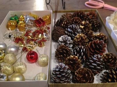 クリスマスの材料